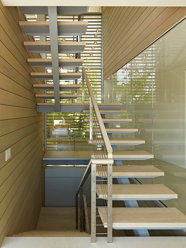 Pond House by Stelle Lomont Rouhani Architects Treppen Stairs Escaleras repinned by www.smg-treppen.de