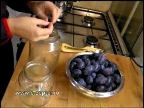 Маринованная слива - видео рецепт