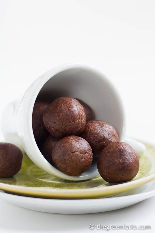 Kid-Friendly Chocolate Energy Bites | Naturally Sweetened, Vegan, and Gluten Free
