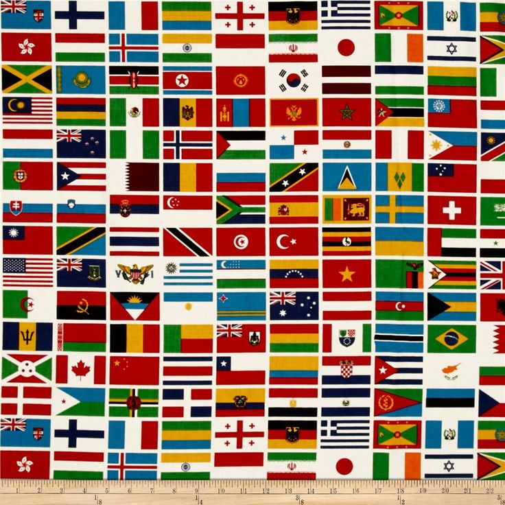 cloth flags of the world