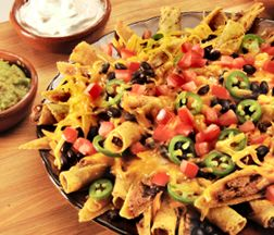 José Olé - Not Your Momma's Nachos! Try adding #chicken or your favorite #cheese to this tasty Mexican treat.
