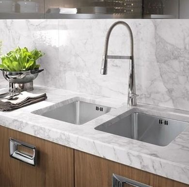 141 best bathroom cleaning tips images on pinterest for How to clean marble countertops in bathrooms