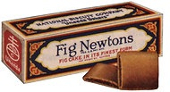 "Original Fig Newton box...can't find the big fig newton commercial - ""here's the tricky part"""