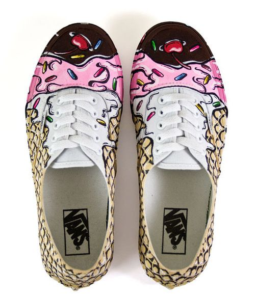 custom vans schoenen