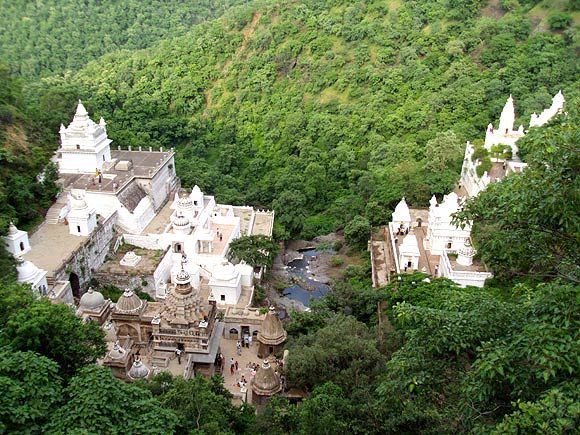 Muktagiri, the Jain pilgrimage centre located in Betul district of Madhya Pradesh. Photograph: Jayant N Tandulkar