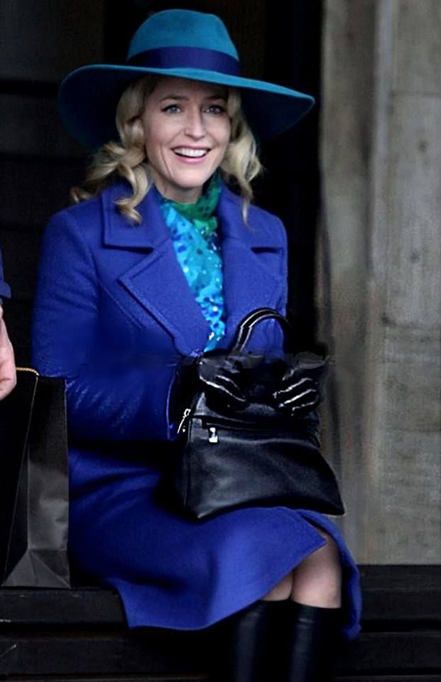 Gillian Anderson in Italy on the set of Hannibal season 3.... over 74,500 signatures so far...  sign the petition to save Hannibal at http://www.change.org/p/nbc-netflix-what-are-you-thinking-renew-hannibal-nbc