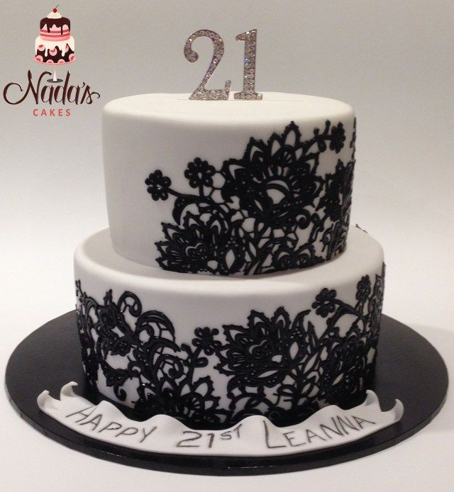 Astonishing 20 Pretty Photo Of 21St Birthday Cakes Black And White 21St Personalised Birthday Cards Beptaeletsinfo