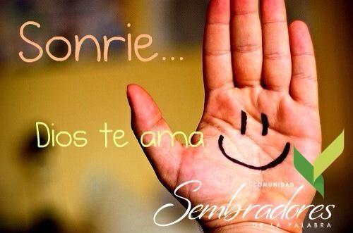 Sonrie, frases espirituales, #frasesdelabiblia #sembradoresdelapalabra #comunidadcatolica #comunidadsempal #rccdecolombia #rccbogota http://www.sembradoresdelapalabra.com/