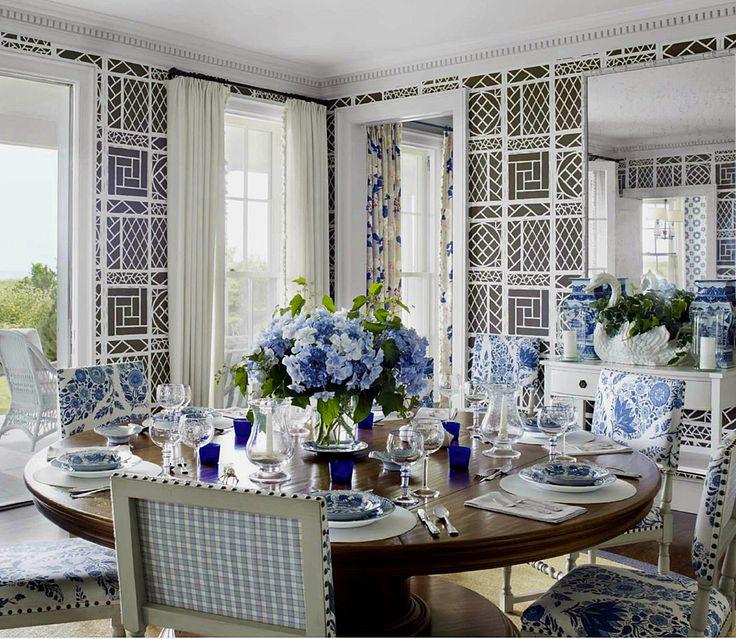 Lattice Wallpaper: Trellis Wallpaper By China Seas