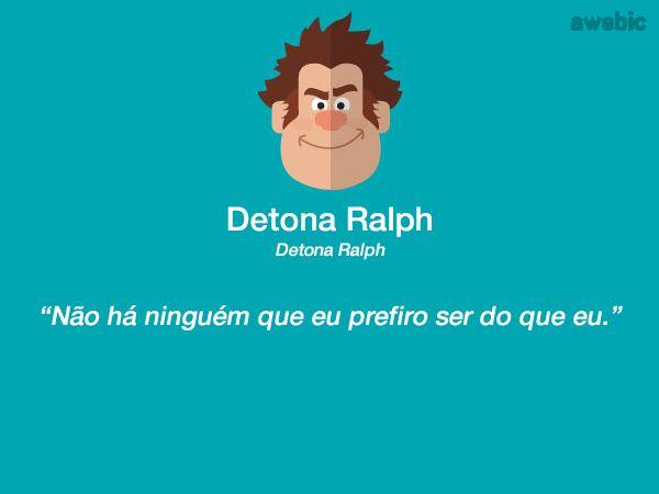 Citação #DetonaRalph