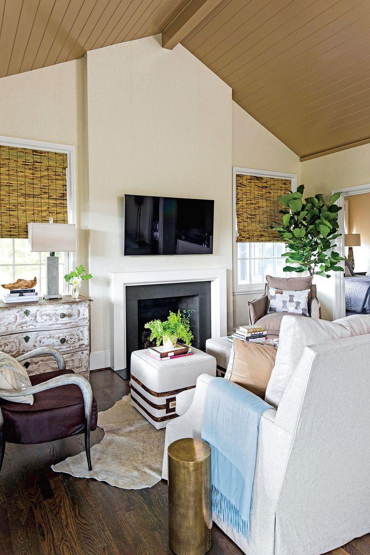 ottoman as coffee table living room