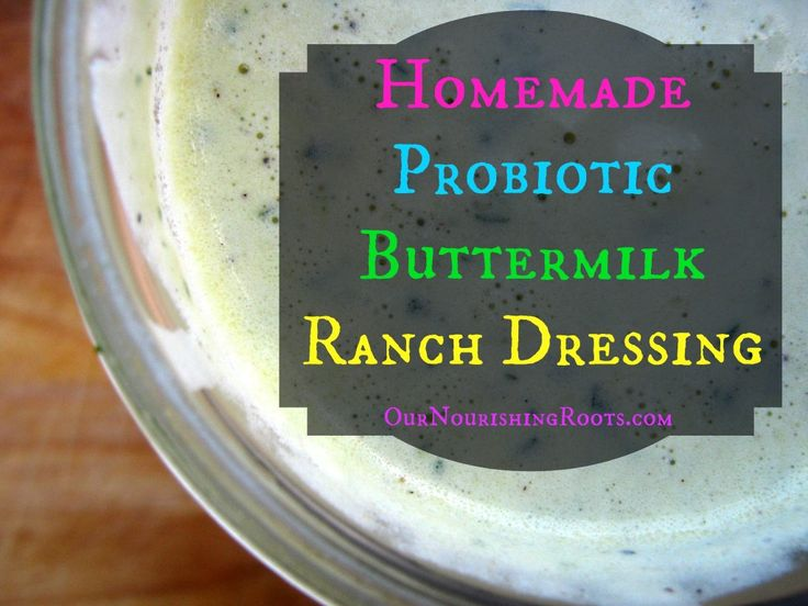 homemade buttermilk ranch dressing | Guten Appetit | Pinterest