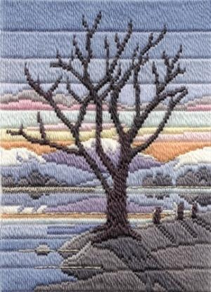 Gorgeous longstitch pattern from CrossStitchUK