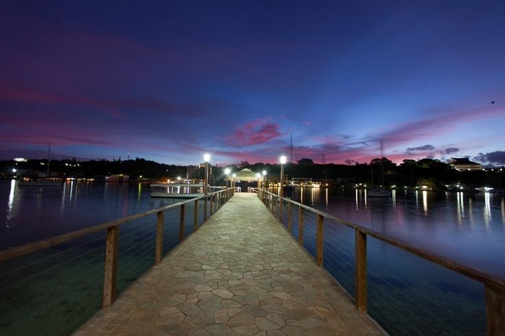 Fabulous views from the jetty at Iririki Island Resort, Vanuatu  www.islandescapes.com.au