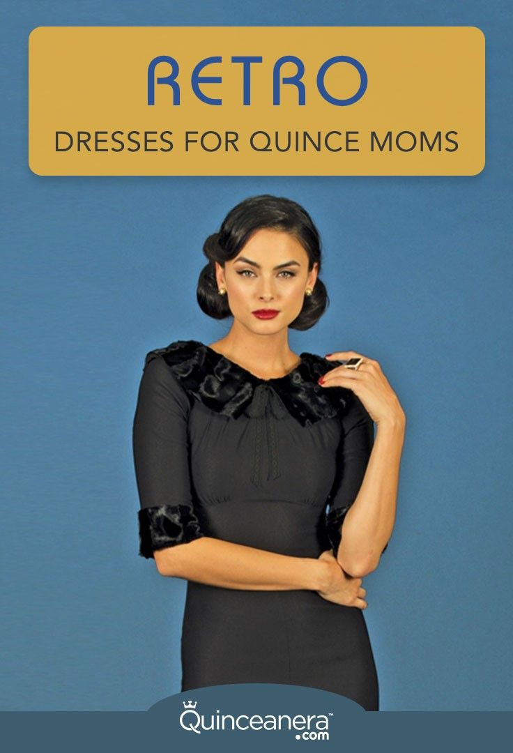 Retro dresses for quince moms are the latest trend and these styles are classic meaning they will always make a fashion statement for every occasion. There is a world of possibilities for matching retro dresses for both Quince moms and daughters especially if they are planning a rockabilly quinceanera or a vintage-inspired quince! - See more at: http://www.quinceanera.com/for-parents/sexy-retro-dresses-for-quince-moms/#sthash.ldAULfqd.dpuf