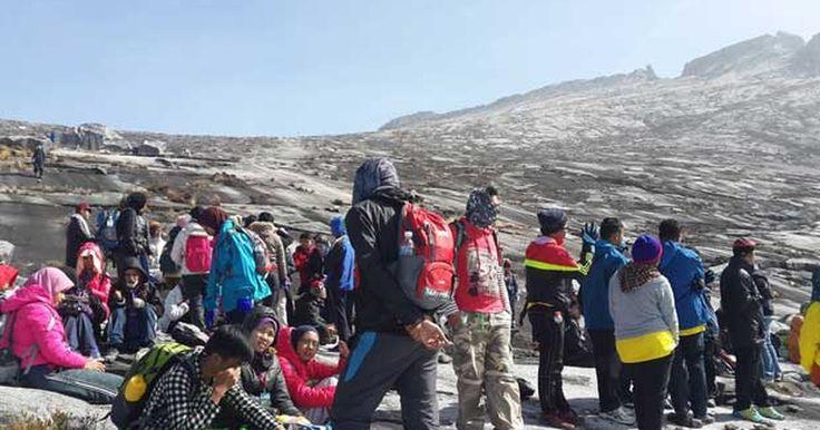 Terremoto deixa escaladores ilhados no monte Kinabalu, na Malásia