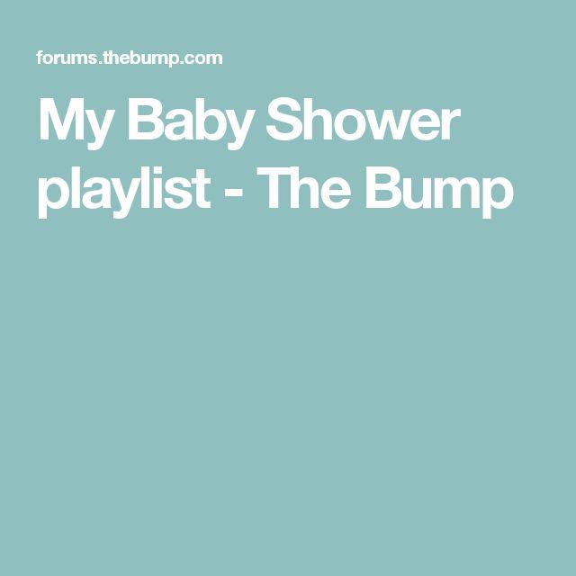 Charming My Baby Shower Playlist
