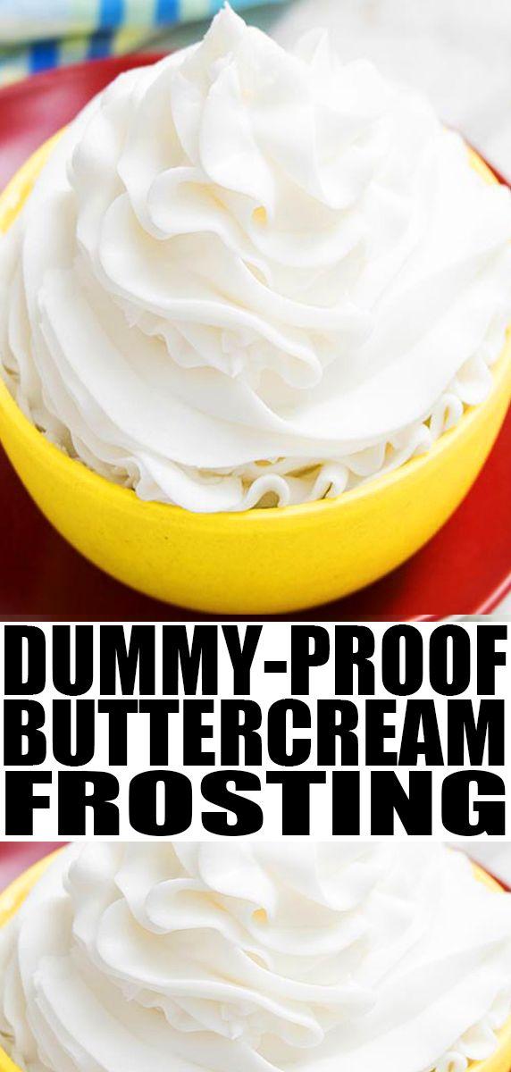 Best Vanilla Buttercream Frosting American Buttercream Frosting Recipe Frosting Recipes Easy Frosting Recipes