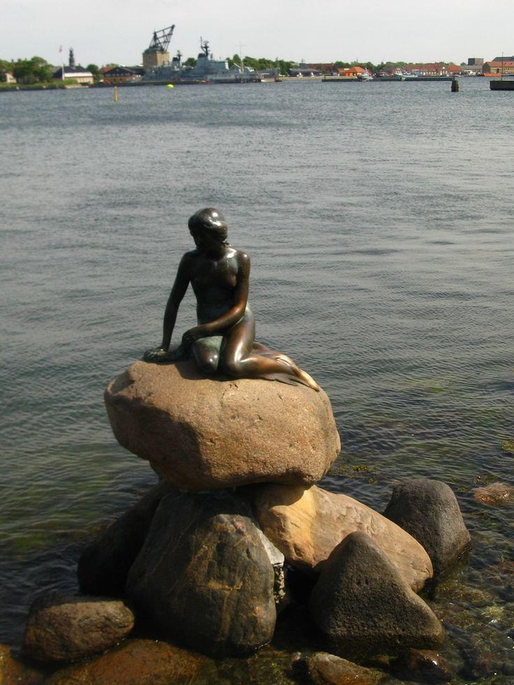 Koppenhága - A város jelképe - Den lille Havfrue, avagy a Kis Hableány