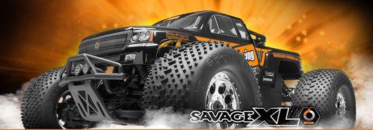 HPI Savage XL Octane - 1:8 RC Benzin Bil