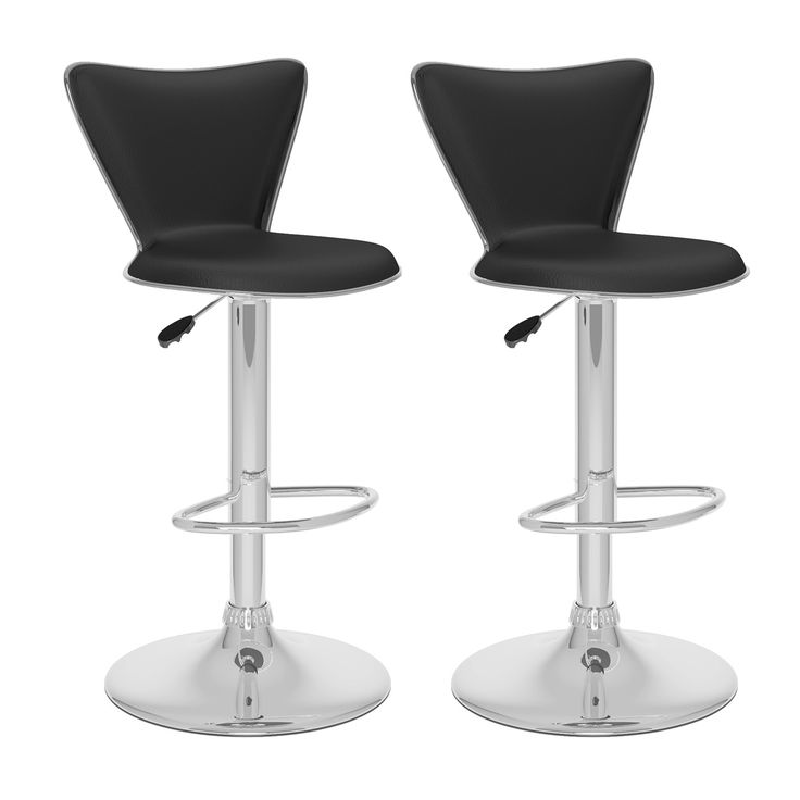 Shop CorLiving  B-2 Tall Curved Back Adjustable Bar Stool (Set of 2) at Lowe's Canada. Find our selection of bar stools at the lowest price guaranteed with price match + 10% off.