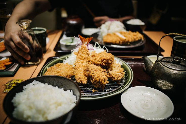 Tonkatsu is a Japanese take on schnitzel, deep fried pork cutlet. It's crunchy, juicy and so, so delicious! #food #travel