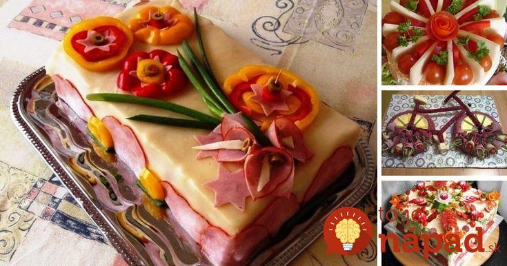Najkrajšie inšpirácie na slané torty, ktoré vás vyzerajú úžasne a chutia ešte lepšie.