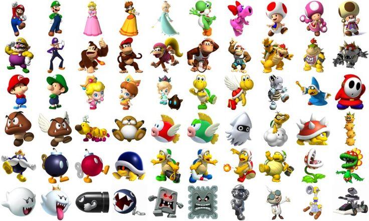 Mario Charaktere
