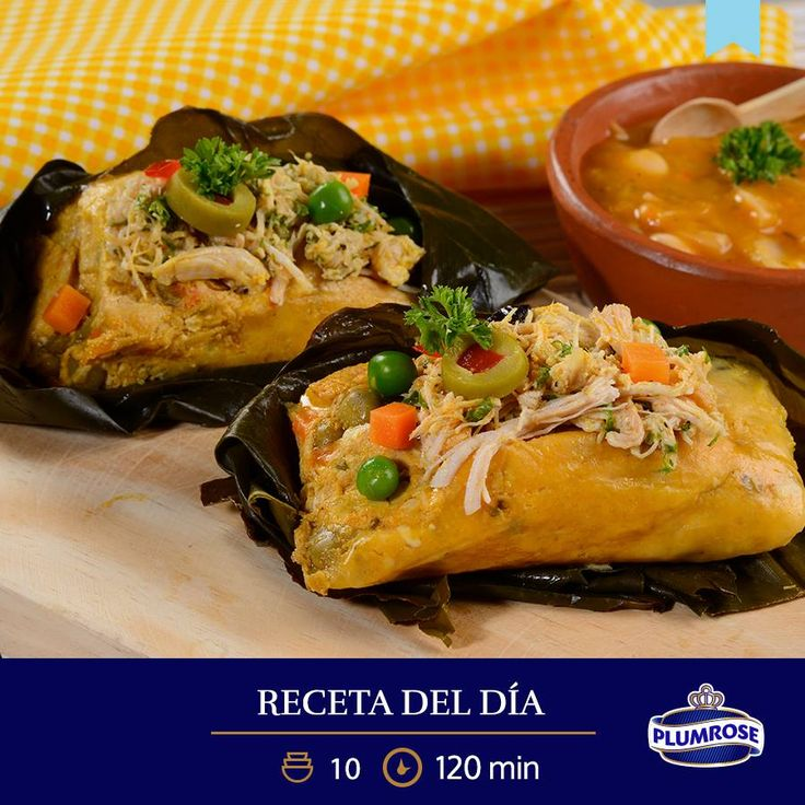 JUNIO Tamal de pollo  ¡Feliz Día del Tamal! Prepara esta delicia con el nuevo Pollo Desmechado Plumrose en lata y comparte un cálido momento en familia. Si te gustó, haz clic en compartir.