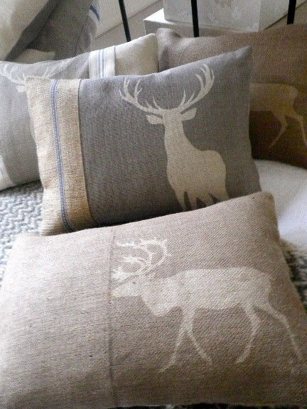 I am officially a stag hag.   #LovePillows