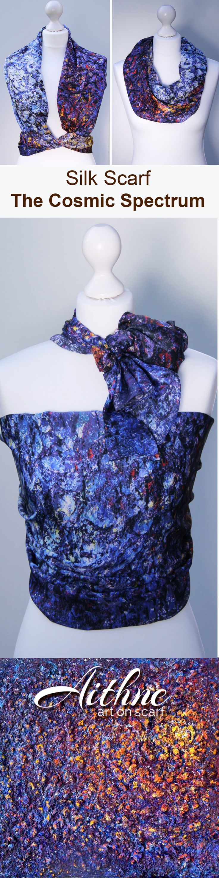 THe Cosmic Spectrum - this scarf is great both for any special occasion