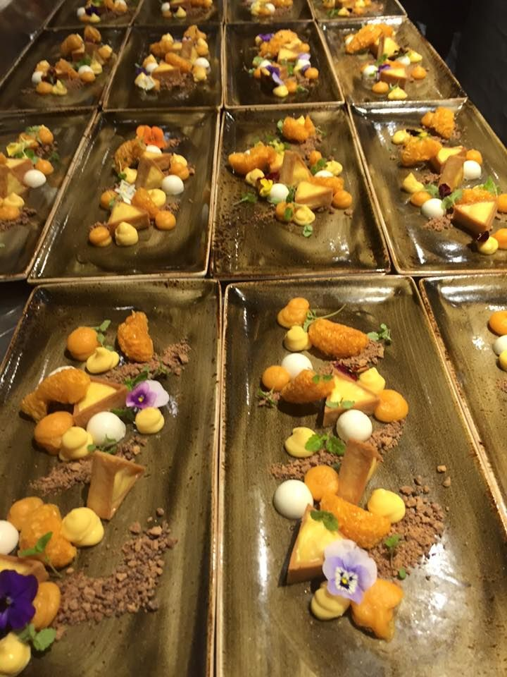 To finish an amazing night of Alpaca, a perfect desert by Christy Tania.