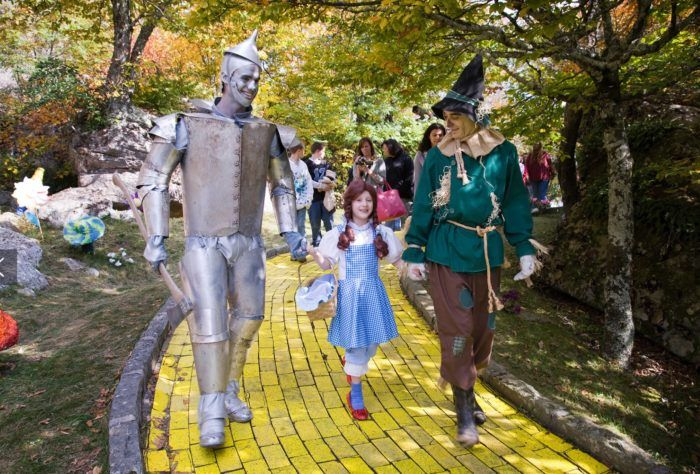 The Land of Oz theme park in Beech Mountain, North Carolina. VERY LIMITED OPENINGS DURING THE SUMMER!