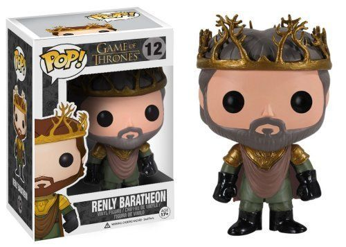 Funko POP Game of Thrones: Renly Baratheon Vinyl Figure [Toys & Games] Holiday Toy http://popvinyl.net #funko #funkopop #popvinyls