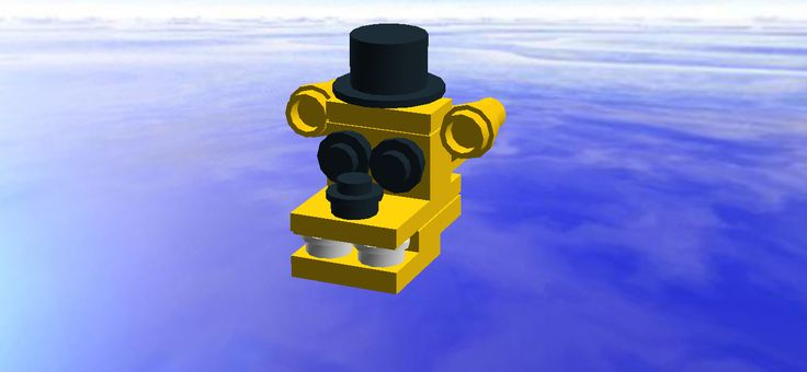 Lego mini Golden Freddy