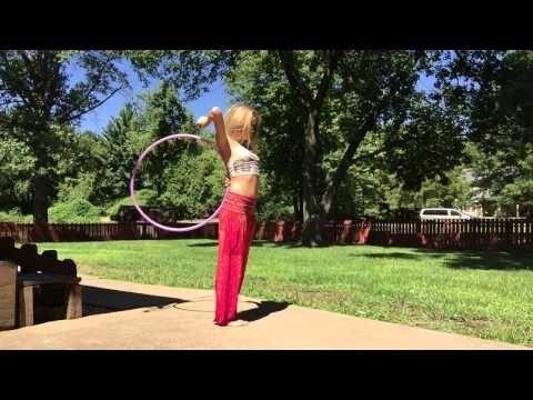 Infinity Tosses- Hoop Tutorial - YouTube