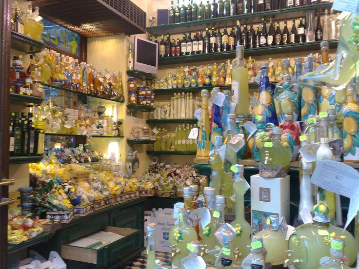 Limoncello de Amalfi