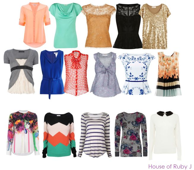 rectangle body type   tops for rectangular body type - Polyvore