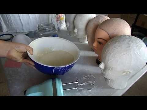 dos formas para hacer moldes de cabeza - YouTube