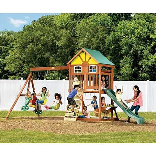 """Westvale Wood Gym Set - Big Backyard - Toys """"R"""" Us ..."""