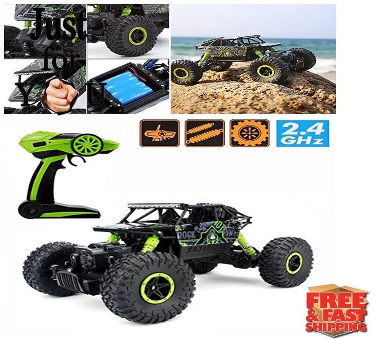 BEST Christmas Gift For Kid Boy RC Car 4WD Electric Remote Control Truck Truggy #CrossRace