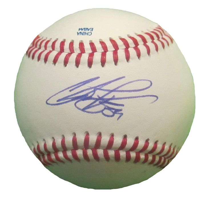 Chris Perez Autographed Rawlings ROLB Leather Baseball, Proof Photo. Chris Perez Signed Rawlings Baseball, Los Angeles Dodgers, Cleveland Indians, St Louis Cardinals, Proof  This is a brand-new Chris Perez autographed Rawlings official league leather baseball.  Chris signed the baseball in blue ball point pen. Check out the photo of Chris signing for us. ** Proof photo is included for free with purchase. Please click on images to enlarge. Please browse our website for additional MLB…