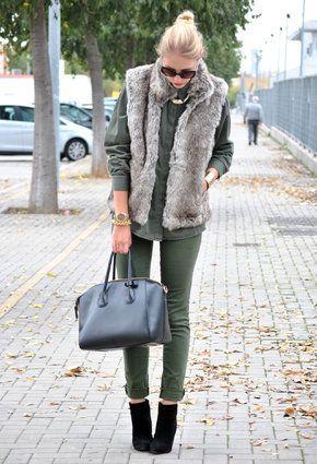Lefties  Vests, Zara  Shirt / Blouses and piel de toro  Pants
