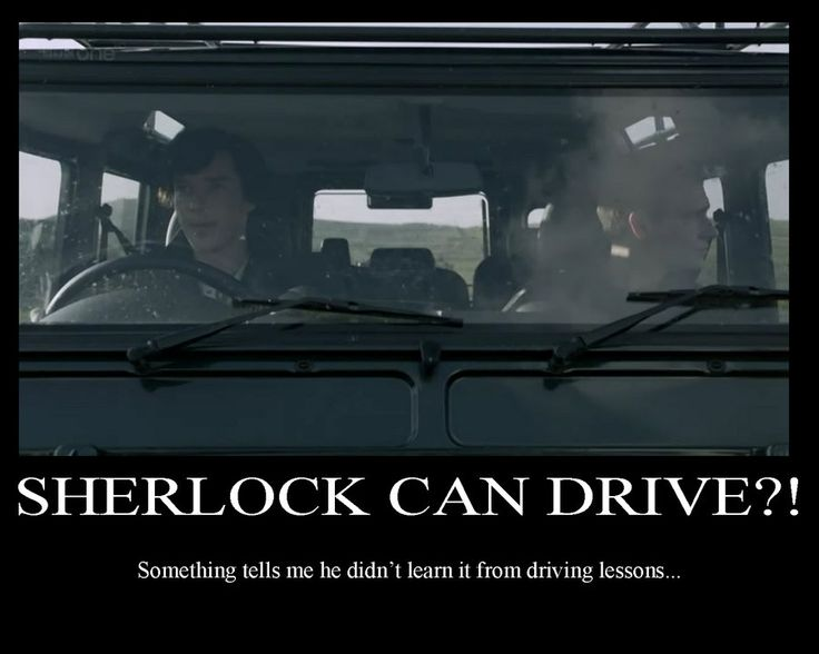 Martin Freeman does not know how to drive in real life. The script originally called for him to drive but Benedict had to.