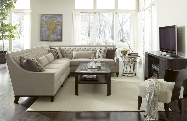 Wythe Upholstered Coffee Bean Sectional