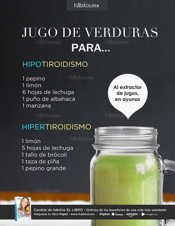 Hábitos Health Coaching   JUGOS DE VERDURAS que nos ayudan con el HIPOTIROIDISMO y el HIPERTIROIDISMO