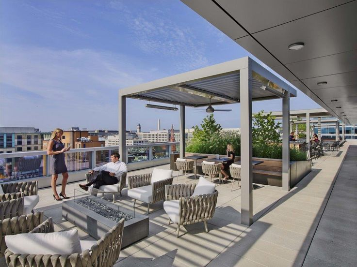 Office Tour Venable Offices Washington D.C. Rooftop