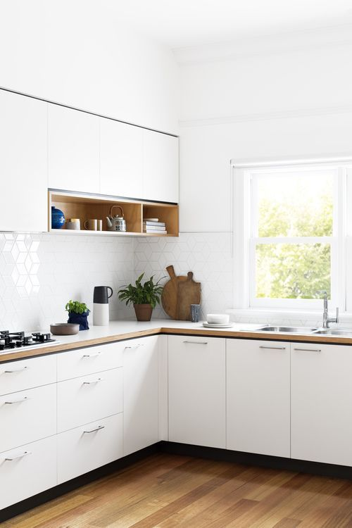 Beautiful simple modern kitchen