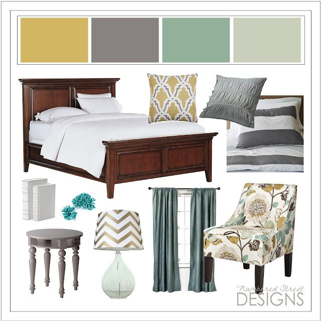 Love this color scheme so much!:  Boards, Dreams Bedrooms, Color Schemes, Bedrooms Colors, Master Bedrooms, Colors Schemes, Numbers Street, Master Bath, Blue Colors
