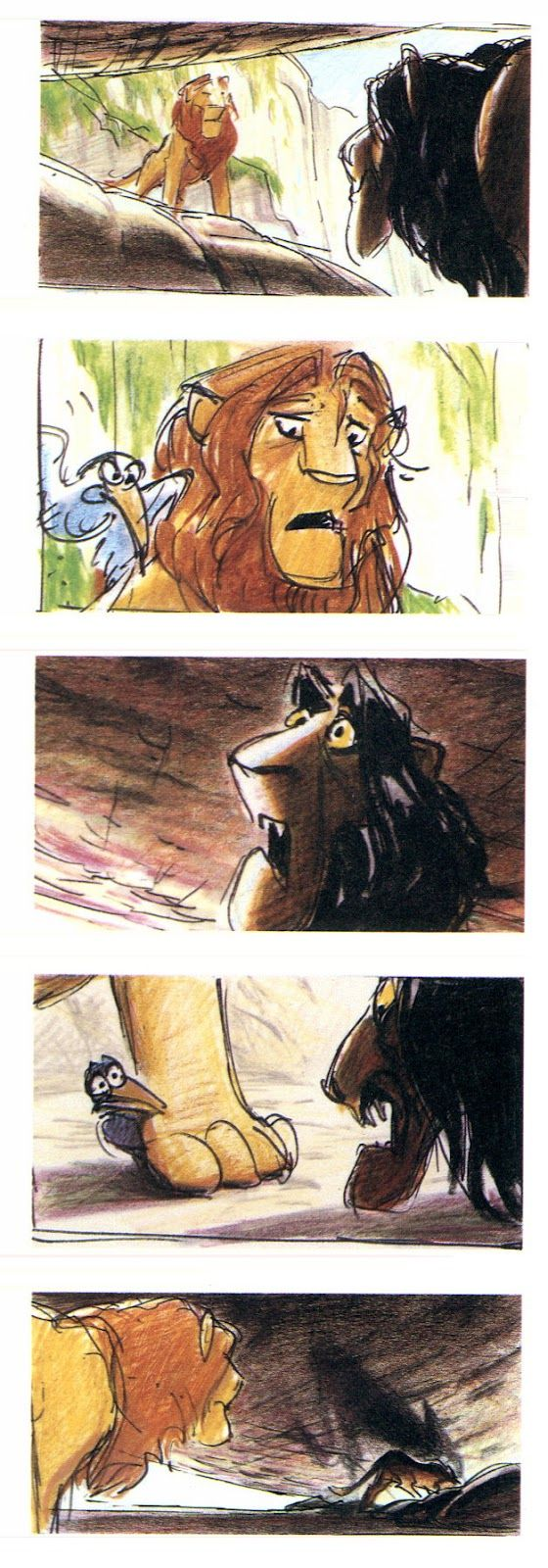 Living Lines Library: The Lion King (1994) - Storyboards